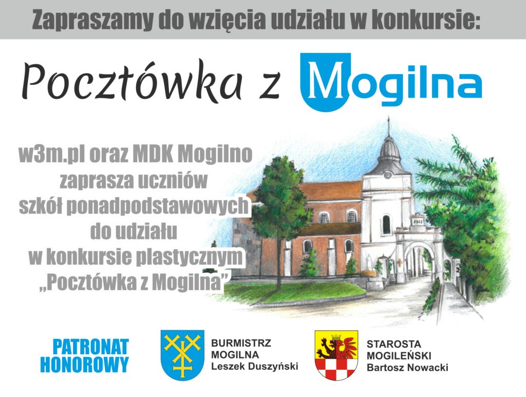 """Konkurs """"Pocztówka z Mogilna"""""""
